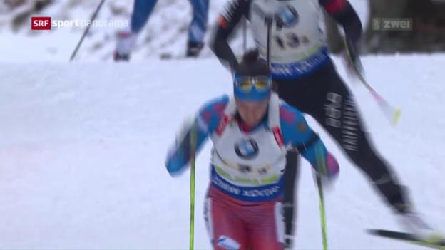 Video «Schweizer Biathleten überzeugen» abspielen