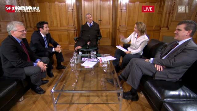Gesprächsrunde 3: Parlamentarier persönlich