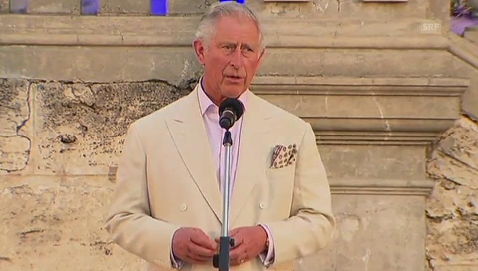 Prinz Charles bittet um Schweigeminute für die Opfer in Paris