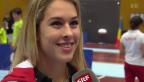 Video «Sportlich: Giulia Steingruber unterrichtet Nachwuchs» abspielen
