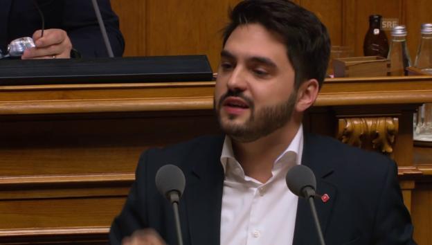 Video «SP-Nationalrat Wermuth zum Zankapfel Landwirtschaft» abspielen