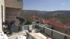 Video «Israelische Siedlungen: Palästinenser bauen für die Besatzer» abspielen