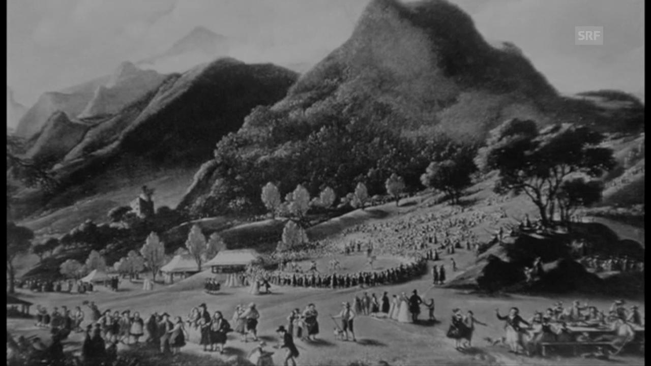 200 Jahre Tradition: Die Geschichte des Unspunnen-Schwingets