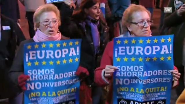 Proteste in Spanien (unkommentiert)