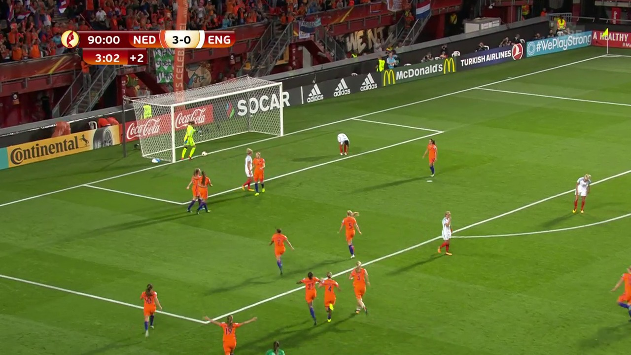 Problemloser 3:0-Sieg der Niederlande gegen England