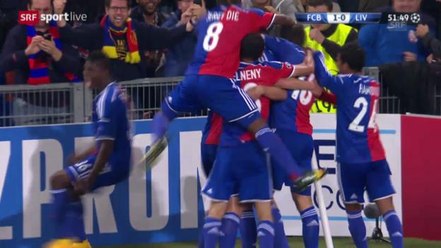 Video «Fussball: Champions League, Basel - Liverpool, Live-Highlights» abspielen