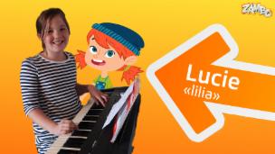 Video «Lucie kommt aus dem Kanton Zürich, spielt Klavier und mag Lego.» abspielen