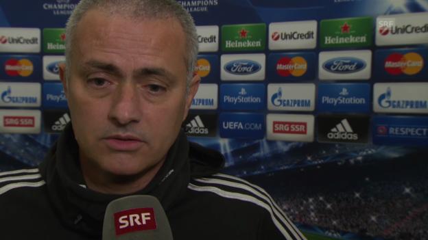 Video «Fussball: Interview mit Jose Mourinho (englisch)» abspielen