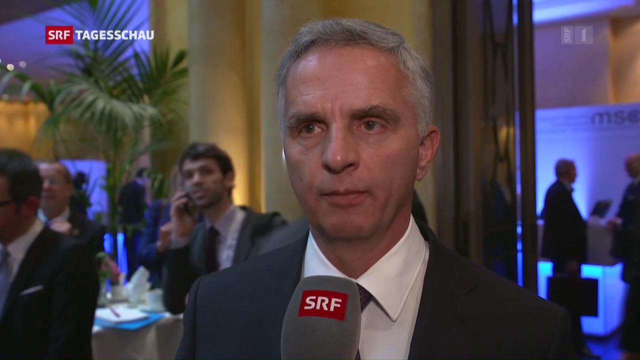 Didier Burkhalter zur Rolle der Schweiz