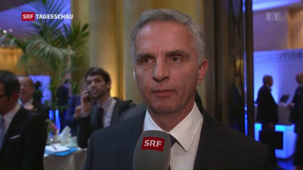 Video «Didier Burkhalter zur Rolle der Schweiz» abspielen