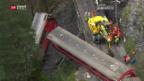 Video «Bahn-Unglück war «unvorhersehbar»» abspielen