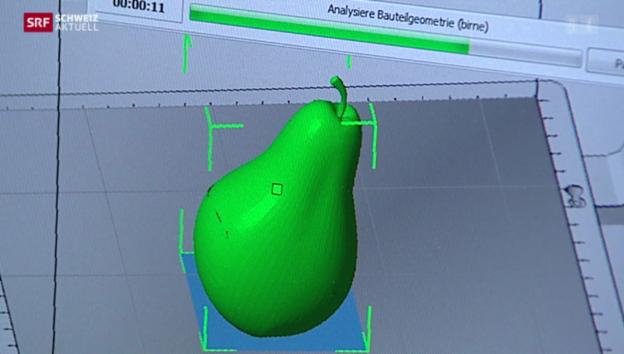 Video «Erster 3D-Druckershop in Zürich» abspielen