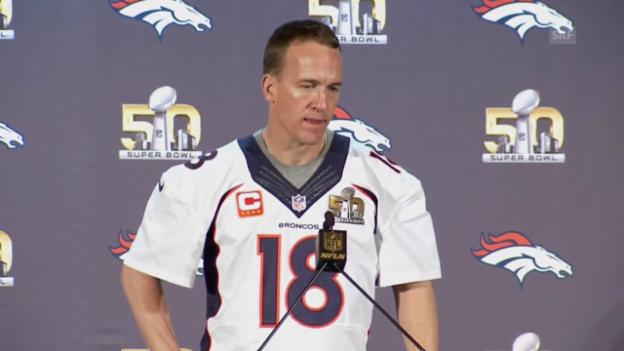 Video «Super Bowl: «Sheriff» Peyton Manning und das letzte Rodeo» abspielen