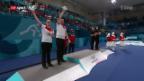 Video «Silber für die Schweiz im Mixed Curling» abspielen