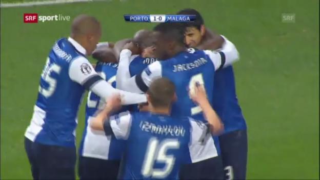 Video «Highlights Porto - Malaga» abspielen