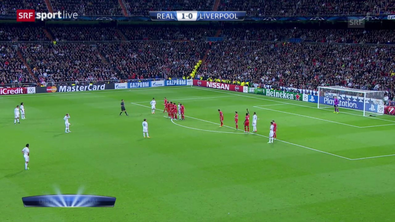 Fussball: CL, Real Madrid - Liverpool