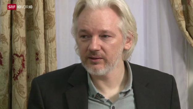 Video «Assange will Botschaft verlassen» abspielen