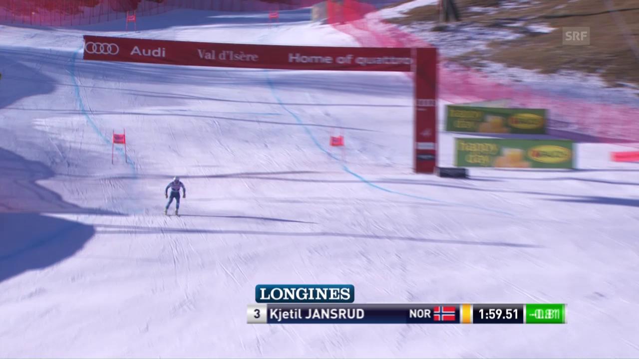 Jansrud gewinnt auch die erste Abfahrt