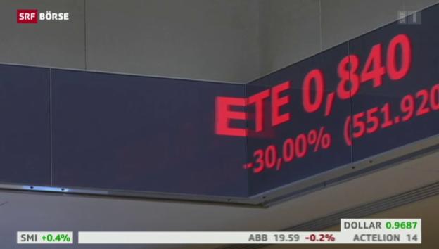 Video «SRF Börse vom 03.08.2015» abspielen