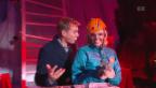 Video ««Eisklettern» mit Stéphanie Berger» abspielen