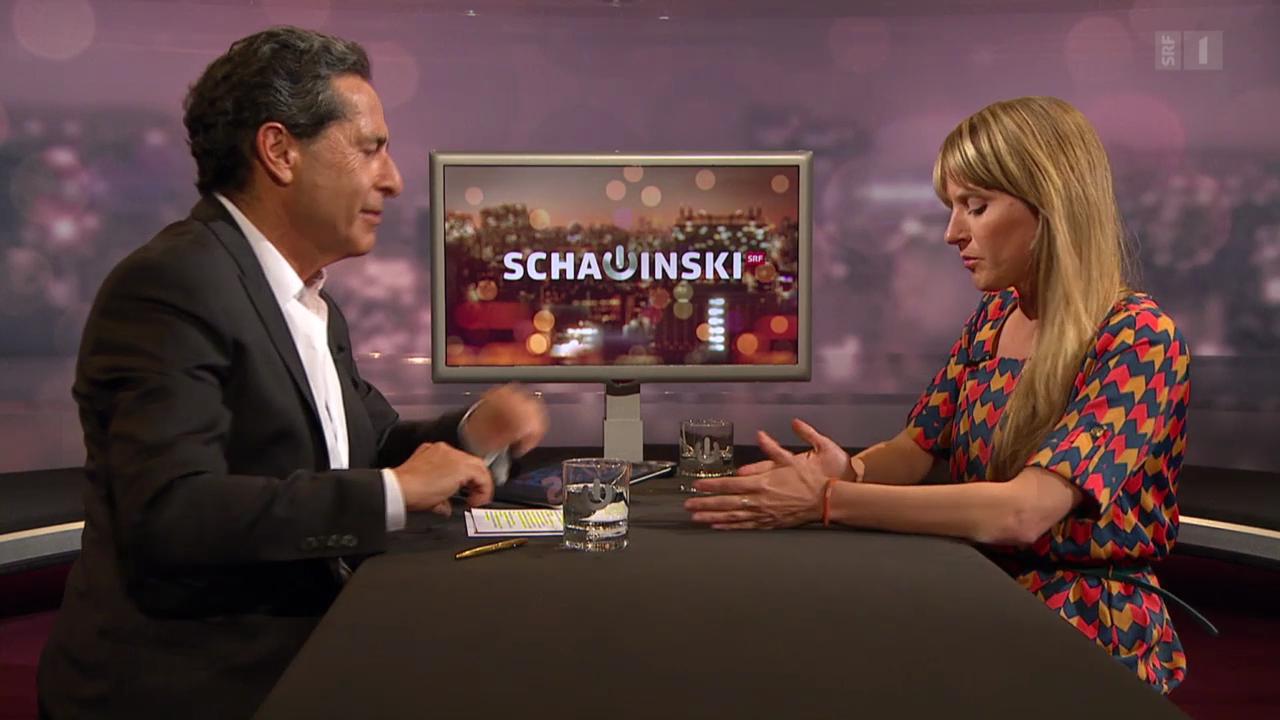 Roger Schawinski im Gespräch mit Seraina Rohrer