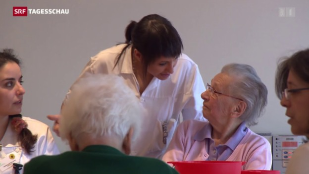 Video ««In der Pflege muss etwas geschehen»» abspielen