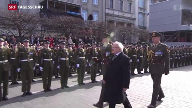 Video «Irland gedenkt des Osteraufstandes» abspielen