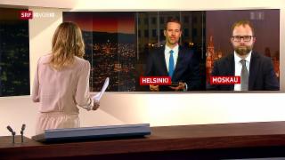 Video «FOKUS: Einschätzungen aus Helsinki und Moskau» abspielen