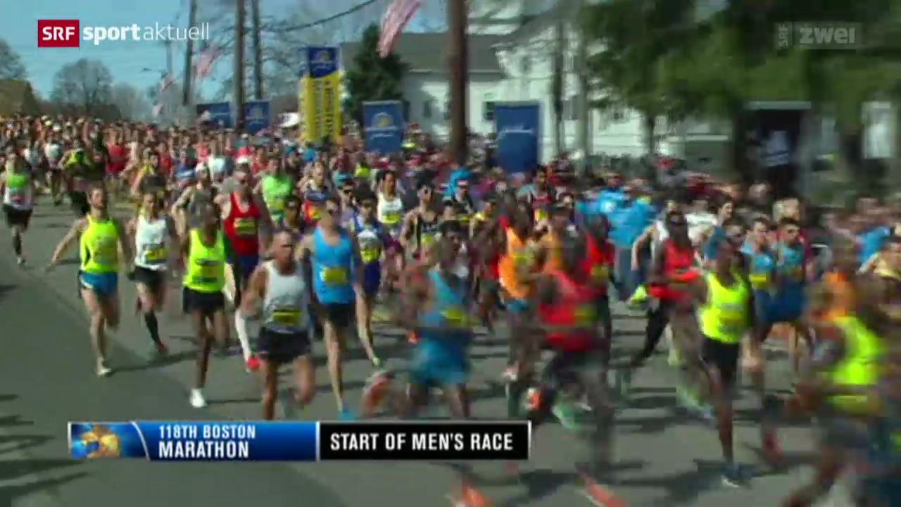 LA: Marathon in Boston