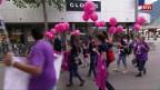 Laschar ir video «Dunnas a Cuira demonstreschan per egualitad»