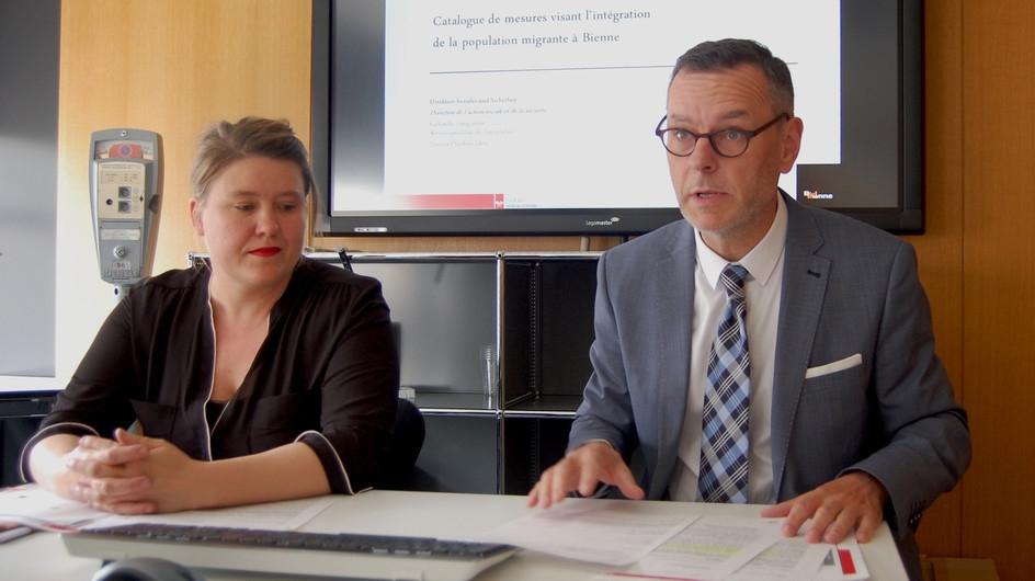 Gemeinderat Beat Feurer: «Integration ist wichtig.» (02.05.2016)