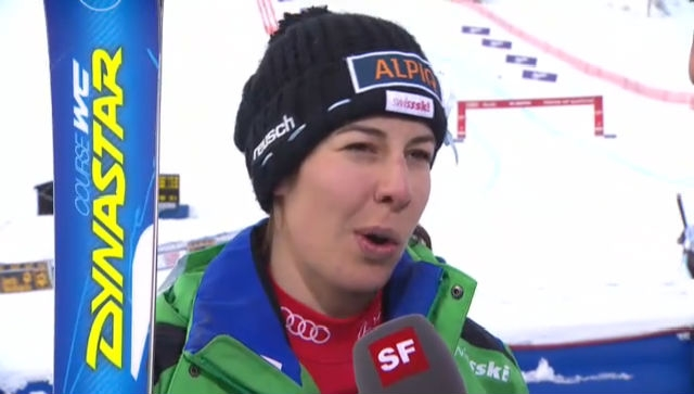 Super-G Frauen: Interview Dominique Gisin («sportlive»)