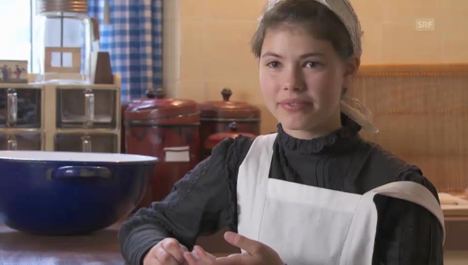 Kurzinterview Dienstmädchen Lisa-Maria D'Ercole