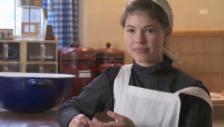 Video «Kurzinterview Dienstmädchen Lisa-Maria D'Ercole» abspielen