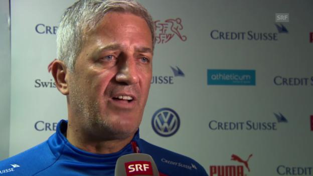 Video «Interview mit Vladimir Petkovic» abspielen