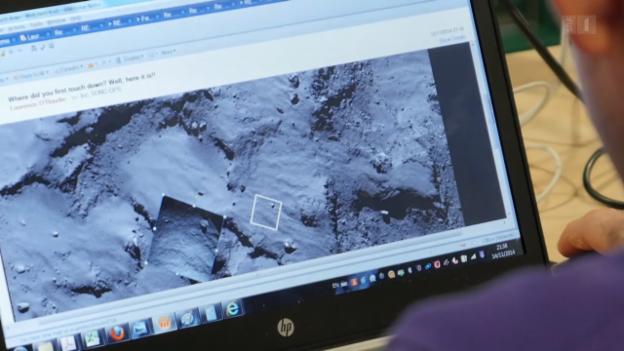 Video ««Philae»-Aus: Wissenschaft und Emotionen» abspielen