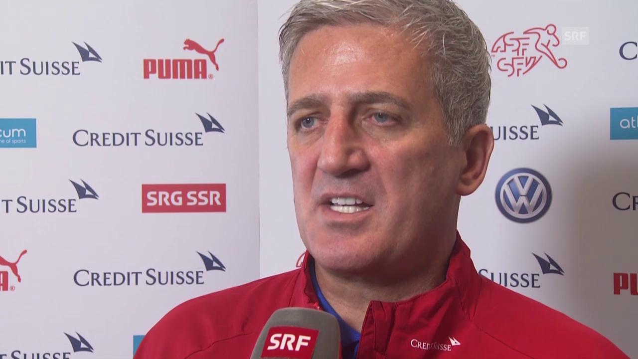 Fussball: Nati-Trainer Vladimir Petkovic über eine mögliche Vertragsverlängerung