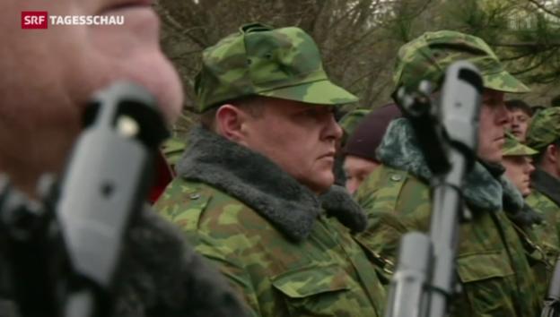 Video «Die Lage auf der Krim bleibt kritisch» abspielen