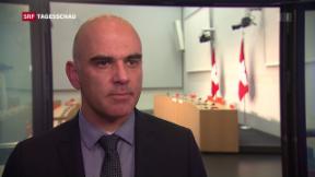 Video «Bundesrat Berset: AHV plus nicht finanzierbar» abspielen
