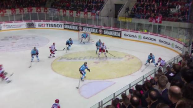 Video «Testspiel: Schweiz - Russland («sportaktuell»)» abspielen