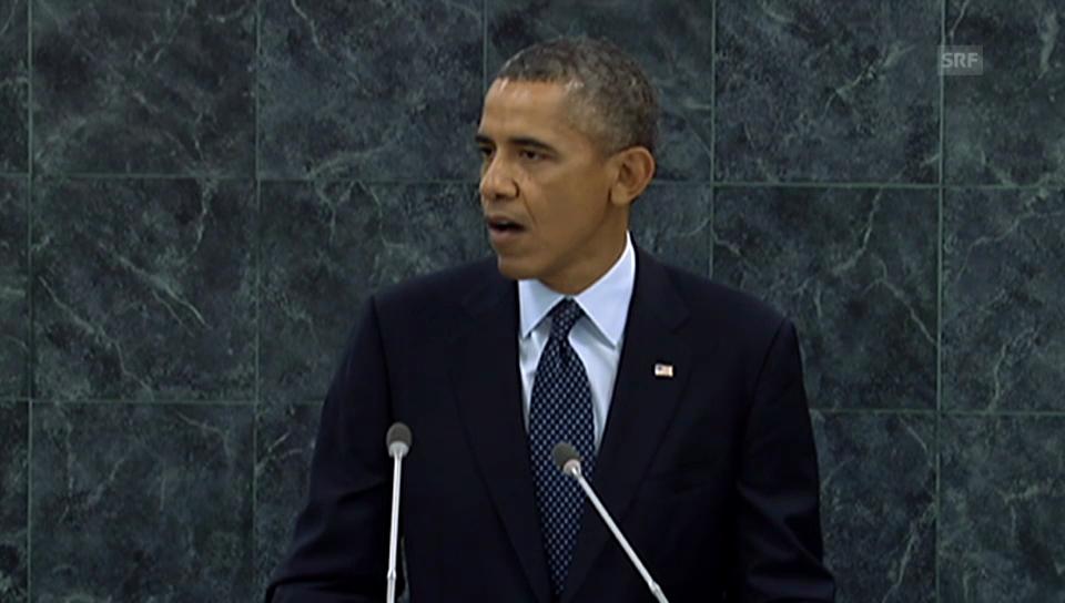Obamas Rede zu Syrien vor der UNO-Vollversammlung (Englisch)