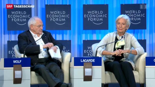 Video «WEF geht zu Ende» abspielen