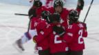 Video «Eishockey Frauen: Schweiz - Russland (sotschi aktuell, 15.02.2014)» abspielen