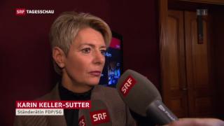 Video «FDP: Vorteil Keller-Sutter» abspielen