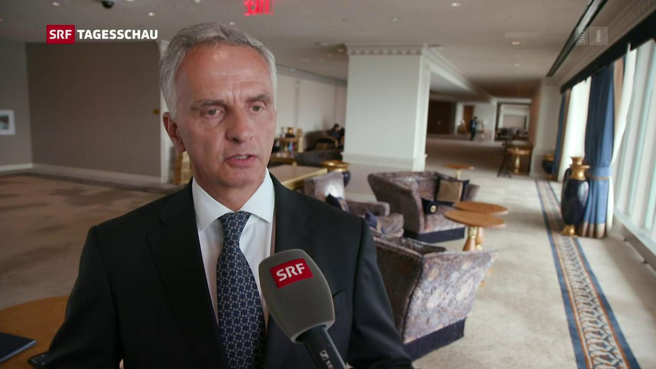 Burkhalter an UNO-Generalkonferenz