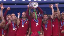 Video «Portugal Europameister - die besten Szenen des Finals» abspielen