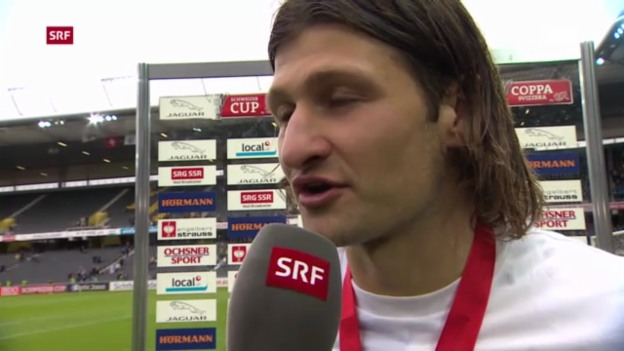 Video «Fussball: Stimmen zum Cupfinal» abspielen