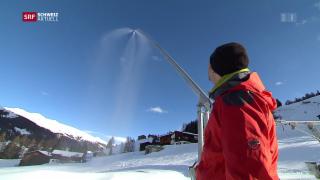 Video «Ineffiziente Schneekanonen» abspielen