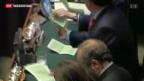 Video «Italiens Linke scheitert mit Prodi» abspielen