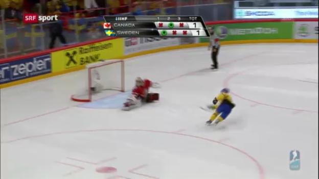Video «Die Viertelfinals von Schweden und Finnland» abspielen